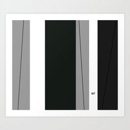 Kirovair Blocks Green #minimal #design #kirovair #decor #buyart Art Print