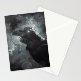 mystic raven II Stationery Cards