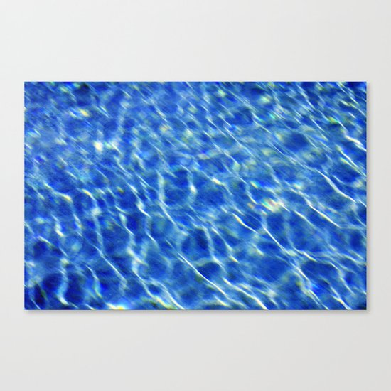 Water surface (2) Canvas Print