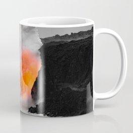 Lava Meets Ocean Coffee Mug
