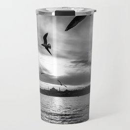 Istanbul : A Fusion of Black and White Travel Mug