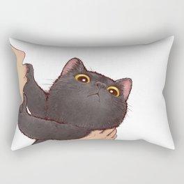 cat : huuh Rectangular Pillow