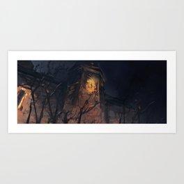 Along the Edge: The Tower Art Print