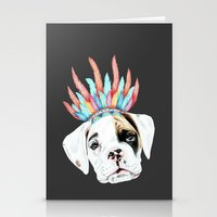 puppy Stationery Cards featuring Puppy by 13 Styx