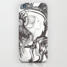 Retrato de Sirena iPhone 6s Slim Case