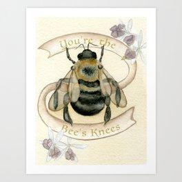 The Bees Knees Art Print