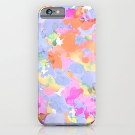 Floral abstract iPhone Case