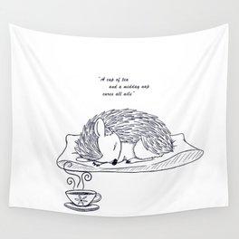 Tea and Sleep Wall Tapestry