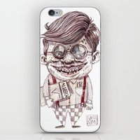 nerd iPhone & iPod Skins featuring NERD by Masss Petrone