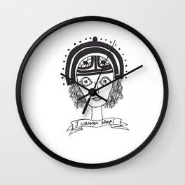 I wanna sleep Wall Clock