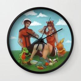 Hoenn Adventure Wall Clock