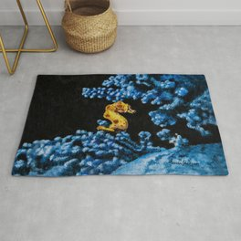 Jewel of the Coral Reef by Teresa Thompson Rug