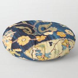 Mahal Floral Vintage Persian Runner Rug Print Floor Pillow