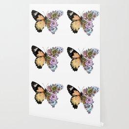 Butterfly in Bloom II Wallpaper