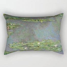 """Claude Monet """"Water Lilies"""" (6) Rectangular Pillow"""
