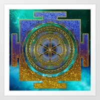 Yantra Mantra Mandala #1 Art Print