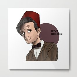 Matt Smith Metal Print