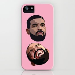 COMEDY & TRAGEDY iPhone Case
