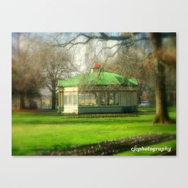The Statuary Pavilion Canvas Print