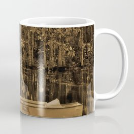 Boat And Swamp Waters Coffee Mug