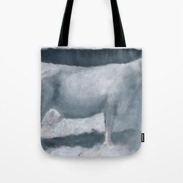 Impressions of a Brown Swiss Tote Bag