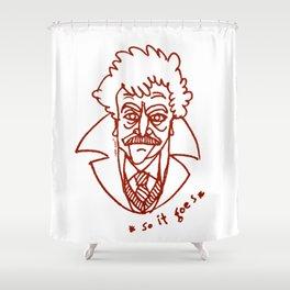 Vonnegut Shower Curtain