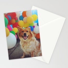 Balloon Dog Stationery Cards