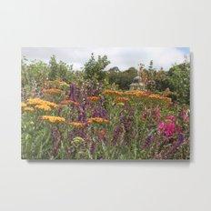Botanical Garden Colour Metal Print