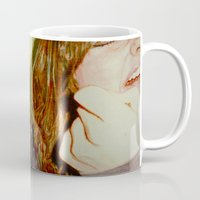 scream Mugs featuring Scream by Lily Patterson
