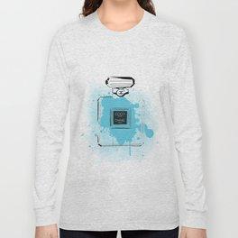 Blue Perfume #2 Long Sleeve T-shirt