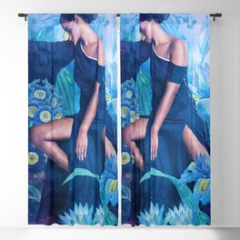 Ramona in the Garden of Dreams Blackout Curtain