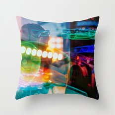 Alien Party Throw Pillow