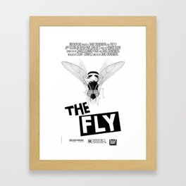 the fly remixed Framed Art Print