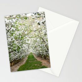 Orchard in Bloom Stationery Cards