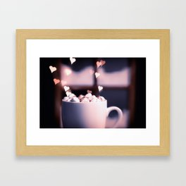 I Love Me Some Hot Chocolate Framed Art Print