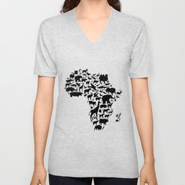 Animals of Africa Unisex V-Neck