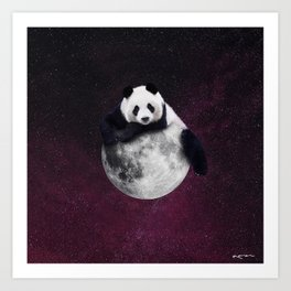 i'm so high I could eat a star. Art Print