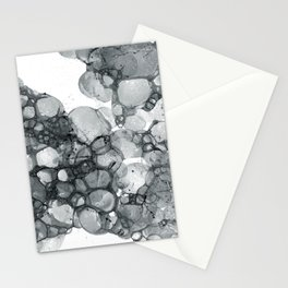 Ink Bubbles Stationery Cards