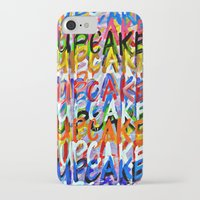cupcakes iPhone & iPod Cases featuring CUPCAKES by Claudia McBain