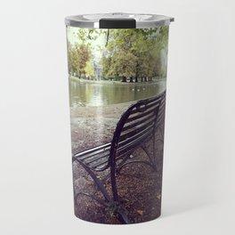 Riverside Iron Bench Travel Mug