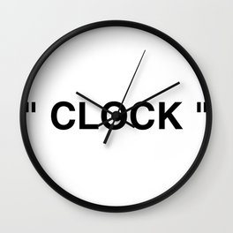 """ Art "" Wall Clock"