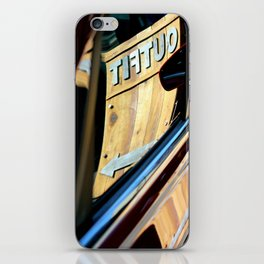 Not Quite A Woodie iPhone Skin