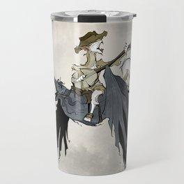 Howling at the Moon Travel Mug