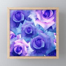 Bouquet de fleur Framed Mini Art Print