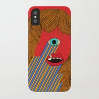 melissa smith iPhone & iPod Cases featuring Smith Eyed by Roland Lefox