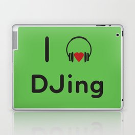 I heart DJing Laptop & iPad Skin