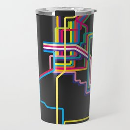 kolkata metro map Travel Mug