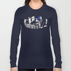 Stonehenge Tardis Long Sleeve T-shirt