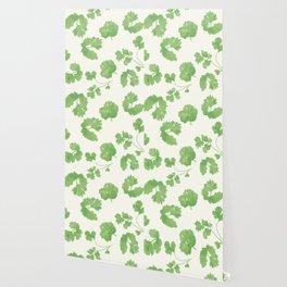 Cilantro pattern Wallpaper