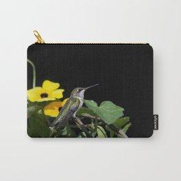 Green Garden Jewel Carry-All Pouch
